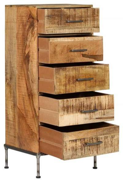 comoda vintage madera maciza